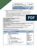 2. Ficha Pedagógica Matemáticas Superior s. Evaluación Diagnostica Bustillos Castillo