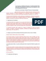 DERECHO CONSTITUCIONAL Y AMPARO