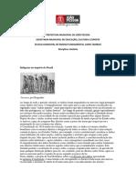 povos indígenas no Brasill Império