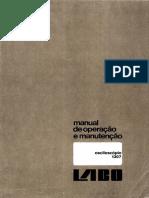 Labo - Osciloscopio 1307 - Manual de servico - TABASCAN