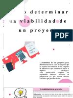 Cómo determinar la viabilidad de un proyecto