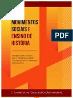 Movimentos sociais e ensino de história EBOOK GT Ensino