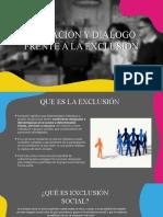 Mediación y dialogo Frente a la Exclusión (1)