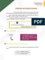Avaliação Corporal na Consulta Online