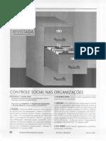 (Lido) Controle Social Nas Organizações (Revisitado)