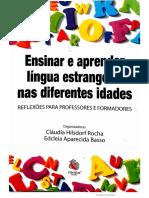 A sala se aula de língua estrangeira com adultos - PIZZOLATTO