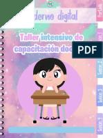❄️Cuaderno digital Taller Intensivo de capacitación docente yesi