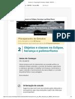 s2. Semana 2 – Programação Orientada a Objetos - EEP101 - .._