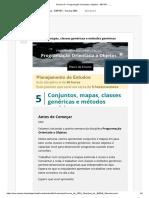 s5. Semana 5 – Programação Orientada a Objetos - EEP101 - .._