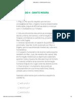 SIMULADO 4 - DANTE MOURA Survey