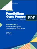 2.3. Modul CGP - Coaching