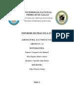 INFORME DE PRACTICA N 2 ADVANCE