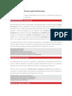 documentación técnica para licitaciones