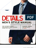 Details Men's Style Manual The Ultimate Guide for Making Your Clothes Work for You-Mantesh