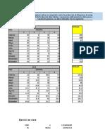 Ejercicios tabulacion y gráficas de datos para llenar