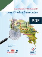15. Resultados Generales Censo 2011