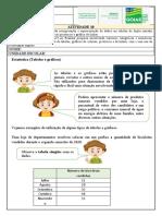ATIVIDADE 10 - MAT - 5º ANO- Tabelas e Gráficos- Professor
