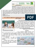 Atividade 10 - 5º Ano- LP- Texto Instrucional- Regras de Jogo-Professor