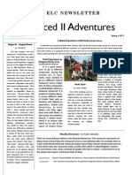 ELC Adv. II Newsletter - Spring 1, 2011