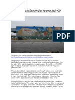 The Art Conservation and Restoration of the Gorgeous Monumental Murals at the Los Angeles Wholesale Produce Market With the Help of the Artist