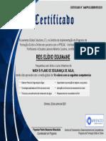 Certificate WPSA