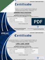 Certificate MAP