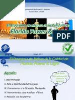 97595865 El Programa de Mejora de La Calidad de Florida Power and Light