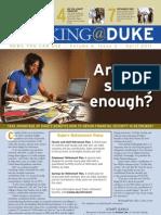 Working@Duke - April, 2011