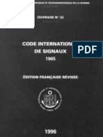 Code Internationale des signaux