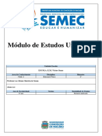 Módulo Ed. Física 2B - 8ª Ano - Bruno Souza