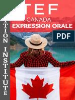 TEF CANADA Speaking Quesitons
