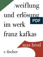 brod_Verzweiflung und Erlösung bei Franz Kafka