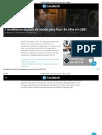 7 tendências digitais de saúde para ficar de olho em 2021 - Canaltech