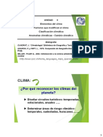 Clima parte I, II y III (alumnos)