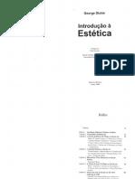 DICKIE, G.  Introdução à estética _