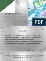 Enfoque Epidemiológico + Triada Epidemiologica