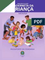 2020 Menina - Caderneta Da Criança - Edição Studïo Meytre