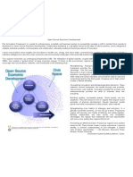 The Innovation Framework in Open Source Economic Development (OSED)