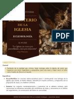 Esquema Eclesiología