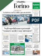 La Repubblica Torino 08 Novembre 2020