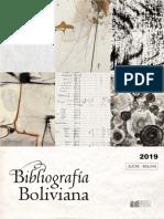 Bibliografia Boliviana 2019
