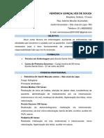 CV Verônica Gonçalves de Souza