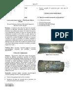 Práctica 2 Laboratorio de Desgaste y Falla - Facultad de Ingeniería Mecánica - Escuela Politécnica Nacional