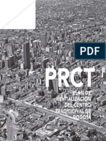 PRCT. Plan de Revitalización Del Centro Tradicional de Bogotá