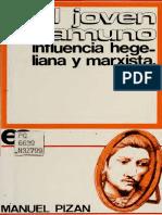 Pizán, M. (1970). El Joven Unamuno. (Influencia Hegeliana y Marxista). Madrid, España_Ayuso