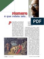 Ensaio comparativo entre Machado de Assis e Homero- Milton Marques