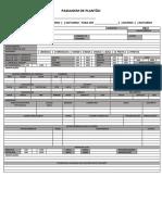PASSAGEM DE PLANTÃO PDF