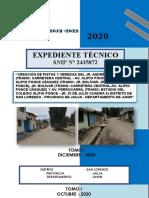 Expedientes Pistas y Veredas San Lorenzo Distrito