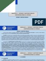 Estado y Gestión Pública - CONTRATACIÓN CON E ESTADO