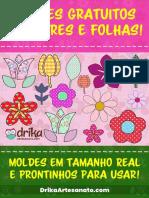 ApostilaMoldesDeFloresFolhas